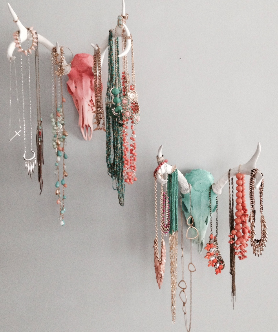 Favorite Jewelry Display \ making it in the mountains