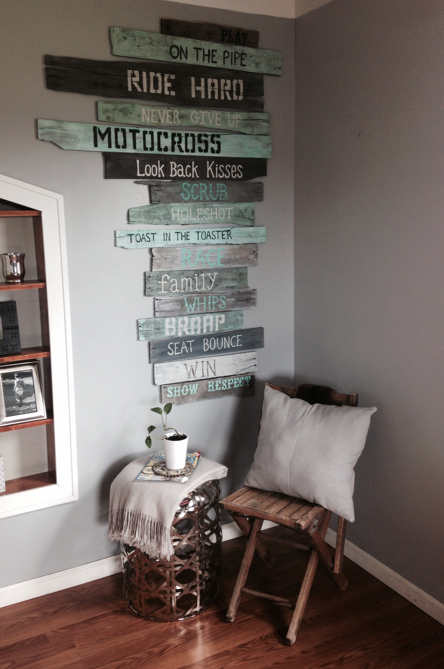 Ruffled republic inspiring you to find the beauty in for Dirt bike bedroom ideas